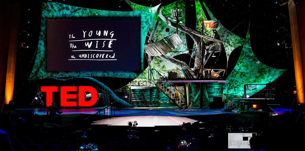 Ted 2013 'The young, the wise, the undiscovered' conference screenshot
