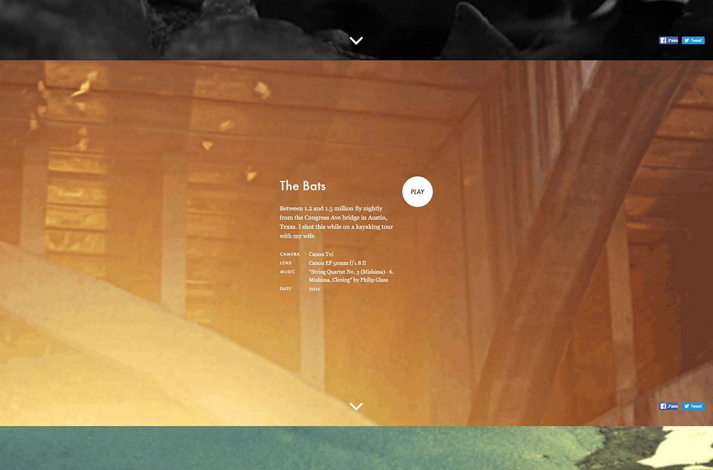 Brett Johnson's website screenshot