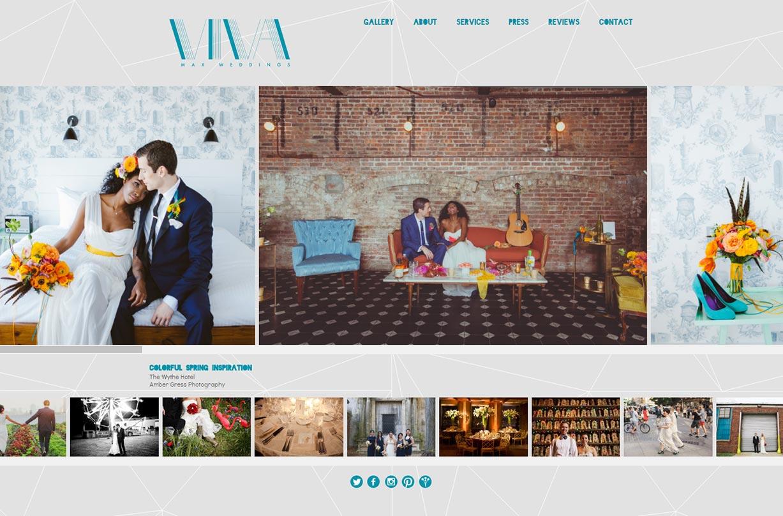 Viva Max website screenshot