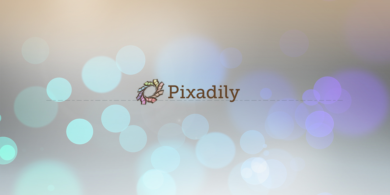 Pixadily - Logo lockup